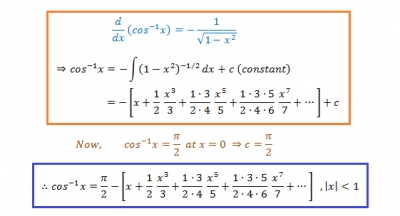 How To Find Series Expansion Of The Inverse Trigonometric Functions